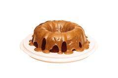 Applesauce rodzynki pikantności tort Obrazy Stock