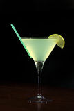 Appletini cocktail Stock Image