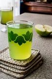 Appletini / Green Apple Juice. Stock Photo