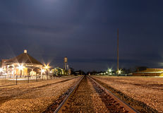 Appleton City Train Depot Stock Images
