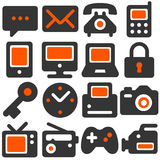 Appliance icons royalty free illustration