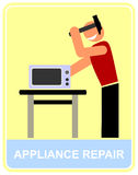 Appliance repair Royalty Free Stock Photography