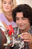 Appliance Repairman Royalty Free Stock Image