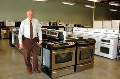 Free Appliance Salesman Royalty Free Stock Photo - 2193395