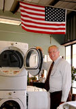 Appliance salesman Royalty Free Stock Images