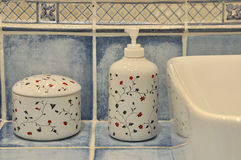 Appliance in washroom Royalty Free Stock Photography