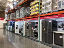 Costco Wholesale Shopping Royalty Free Stock Images