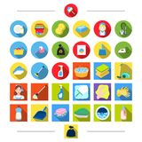 Appliances, equipment, hygiene and other web icon in cartoon style. Del, girl, tools, icons in set collection. Appliances, equipment, hygiene and other  icon in Stock Photos