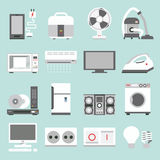 Appliances icons Royalty Free Stock Images