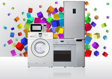 Appliances machine Royalty Free Stock Photography
