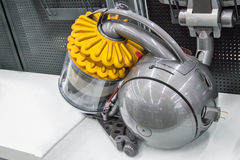 Appliances: powerful modern vacuum cleaner. Stock Image