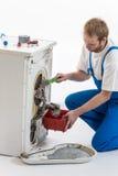 Appliances Repairman Royalty Free Stock Image