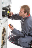 Appliances Repairman Royalty Free Stock Photos