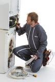 Appliances Repairman Stock Image