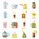 Appliances to Make Coffee Accessories Cup Glass Stock Image