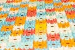 Applicateur de Kuznetsov - aiguilles multicolores en gros plan photos libres de droits