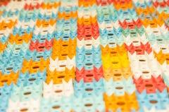 Applicateur de Kuznetsov - aiguilles multicolores en gros plan images stock