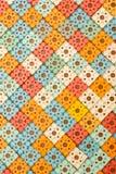 Applicateur de Kuznetsov - aiguilles multicolores en gros plan photographie stock