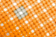 Applicateur de Kuznetsov - aiguilles multicolores en gros plan photos stock