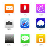 Application app smartphone icon. Royalty Free Stock Images