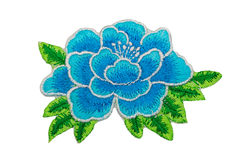 Application blue flower Royalty Free Stock Photography