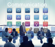 Application Business Communication Graphic Concept royalty free stock photo