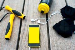 Application de mobile de sport image stock