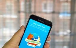 Application de navigateur de Firefox Image libre de droits