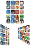 Application de téléphone portable Images stock
