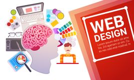 Application Development Create Design Site Programming Coding vector illustration