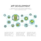 Application Development Process Stock Photography