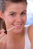 Application du lustre de languette Photos libres de droits