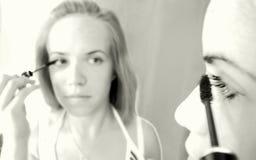 Application du mascara Photo libre de droits