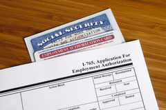 Application for Employment Royalty Free Stock Image