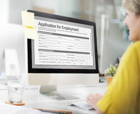 Application For Employment Form Job Concept Royalty Free Stock Photos