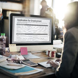 Application For Employment Form Job Concept Royalty Free Stock Photography