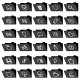 Application folder icons Stock Image