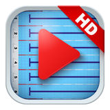 Application icon for live sports broadcasts or Royalty Free Stock Images