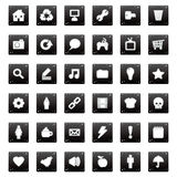 Application icons Royalty Free Stock Photo
