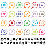 Application icons Stock Image