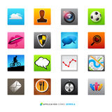 Application Icons stock illustration