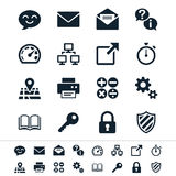 Application Icons Royalty Free Stock Photos