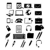 Application icons Stock Photography