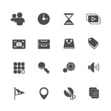 Application Icons Stock Images