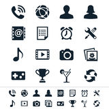 Application icons Stock Photos