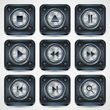 Application icons vector set Stock Photography
