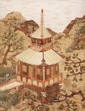 Application: the Japanese pagoda Stock Photography