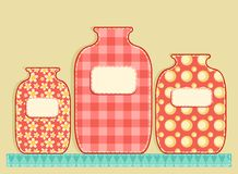 Application jars. Royalty Free Stock Photo