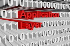 Application layer Royalty Free Stock Image