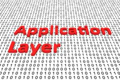 Application layer Stock Image
